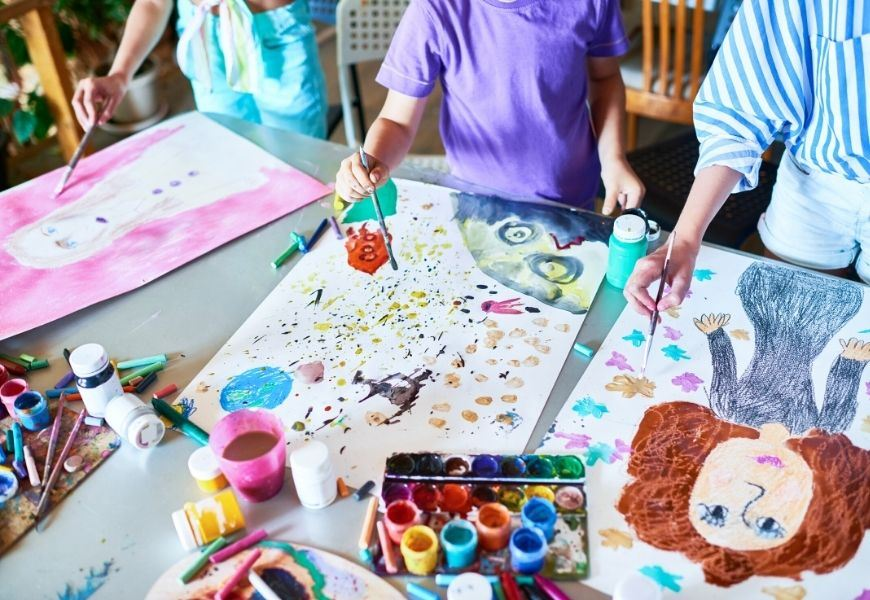 Social Emotional Learning Aligned With Art Curriculum - E-Therapy